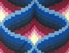 Light in a valley quilt
