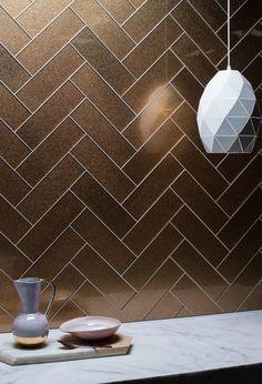 Kitchen Vignettes, Bathroom Plans, Pink Walls, Herringbone Pattern, Kitchen Tiles, Room Decor Bedroom, Home Accents, Tile Floor, Mosaic