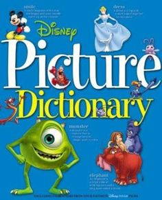 Disney Picture Dictionary (Disney Learning) by Disney Book Group, Thea Feldman 0786833858 9780786833856 Dictionary For Kids, Picture Dictionary, Used Books Online, Classic Books, Disney Pictures, Learn To Read, Vocabulary, Childrens Books, Author
