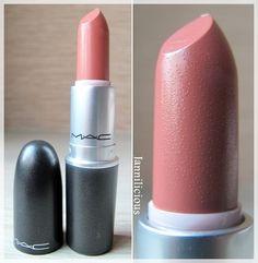 MAC, Kinda Sexy, Peachy Nude, lipstick