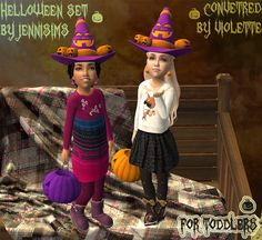 Sims2City: Happy Halloween!  Acc convert for toddlers by Viol...