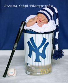 Yankees Baby   Brenna Leigh Photography