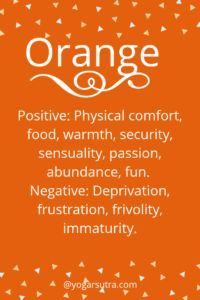 #Color Psychology. Orange- Positive: Physical comfort, food, warmth, security, sensuality, passion, abundance, fun. Negative: Deprivation, frustration, frivolity, immaturity. Psychology Memes, Colleges For Psychology, Color Psychology, Psychology Experiments, Psychology Meaning, Psychology Studies, Forensic Psychology, Personality Psychology, Color Symbolism
