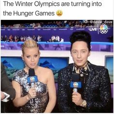 Funny, the hunger games, and videos: the winter olympics are turning into the Hunger Games Memes, Hunger Games Fandom, The Hunger Games, Really Funny, The Funny, Haha, Tribute Von Panem, New Memes, Funny Games