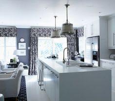 Cortinas para la cocina para decorar vuestros interiores
