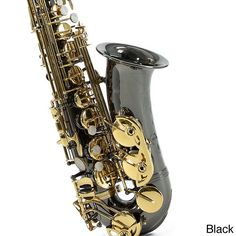 This European-designed E-flat alto saxophone is band-approved and perfect for the beginning to intermefiate student musician. This attractive sax comes with a durable ABS hard-shell case, a strap, ree