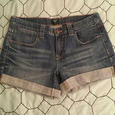 "J. Crew shorts NWT, J. Crew cuffed shorts, stretch, 11"" J. Crew Shorts Jean Shorts"