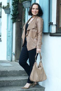 Lady of Style: Versatile Black Jumpsuit