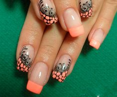 Want to try nail art on your finger nails? Get inspiration from the coolest nail art around for nail art designs to do on yourself using nail polish, nail art pens, leaf and embellishment. Fantastic Nails, Great Nails, Fabulous Nails, Gorgeous Nails, Pretty Nail Art, Beautiful Nail Art, Cool Nail Art, Stunningly Beautiful, Hot Nails