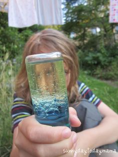 sunnydaytodaymama: Science experiments with plastic bottles (discovery bottle, lava lamp, magnet bottle, blowing up a balloon and plastic bottle links)