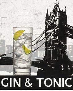 gin & tonic.