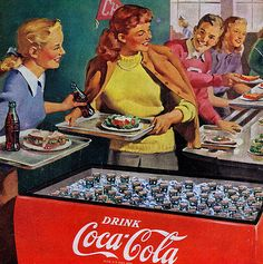 Lunch Refreshed - Coca Cola - 1948