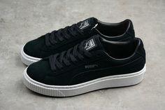 68c21c4ca02 Buy Women Puma Basket Platform Core Black White 362223-01 Lebron 15 Shoes