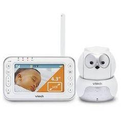 VTech Safe & Sound® Owl Digital Video Baby Monitor with Pan & Tilt Camera VM344 : Target