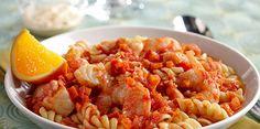 Seafood Stew with Rotini