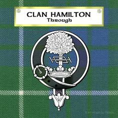 "Clan Hamilton Can you believe their motto is ""Through"" I laughed so much when I found that out. It is so typical of the Hamilton's I know and love. I've been a Hamilton for 39 years, way more than I was my maiden name Stillar."