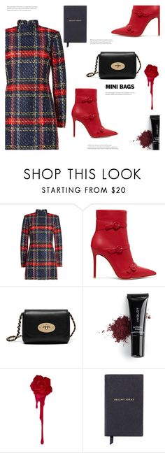 """""""Mini Bags"""" by arwitaa on Polyvore featuring Balmain, Gianvito Rossi, Mulberry, Inglot and Smythson"""
