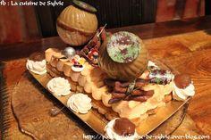 Log pistaches, castanhas e maracujá