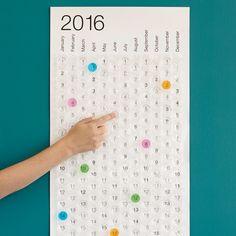 BUBBLE CALENDAR | 2016 Bubble Wrap Calendar | UncommonGoods