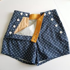 Short Outfits, Kids Outfits, Casual Outfits, Fashion Outfits, Sewing Shorts, Diy Shorts, Fashion Sewing, Kids Fashion, Sailor Shorts