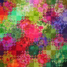 Jenny Bowker's Shimmering Triangles