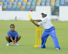 Scotiabank Kiddy Cricket Festival Barbados Leg: Fundamental rule; keep your eyes on the ball, and this young made no mistakes.