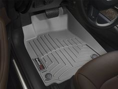 WeatherTech Custom Fit Front FloorLiner for Select Nissan Xterra/Pathfinder Models (Grey)