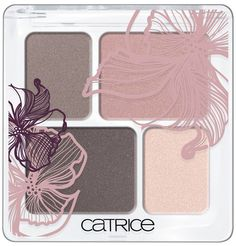 "Catrice Hollywood's Fabulous 40ties LE - Rouge ""Gone with the wind"" - Eye shadow Quattro"