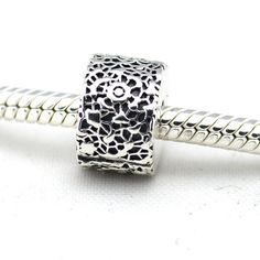 >> Click to Buy << Pandulaso 100% 925 Sterling-Silver DIY Clip Beads Lace Charm Fits EU Brand Charms Bracelets Charm DIY Fine Jewelry For Women   #Affiliate