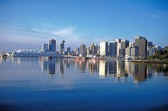 beautiful Vancouver, BC-possible future city. World Beautiful City, Beautiful Places, Downtown Vancouver, Seattle, Oh The Places You'll Go, Places Ive Been, Canada Images, Future City, Live In The Now