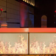 Gallery Fire And Ice Themed Props Stage Sets And