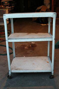 DIY   De carro oxidado a mueble bar glamuroso