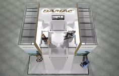 x Modular Exhibition Stand – 4 Slat Wall, Exhibition Stands, Stand Design, Beams, Booth Design, Exposed Beams