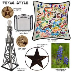 Is your outdoor style rooted deep in the heart of Texas? Just as your living room is designed, themes are an important factor in decorating your outdoor space. Themed accessories are a great way to make a statement and add personal flare to your patio. We have chosen these Texas inspired items, some made here in Texas, to help you show your love for the great state! See them all on this website at MyYardArt.com!