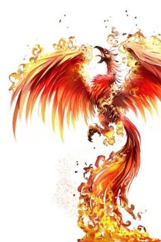 phoenix rebirth from ashes tattoo - Google Search
