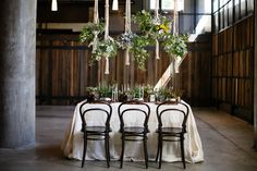 Table with decor #architecture #interiors #details
