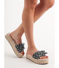 Bodkované šľapky Duffy, Espadrilles, Model, Shoes, Fashion, Shoes Sandals, Espadrilles Outfit, Zapatos, Moda