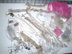 HUGGGGE OVER 120 NECKLACES Jewelry Vintage Necklace by TigersPlace, $59.00