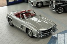 Mercedes-Benz 300 SL Roadster W 198 - Classic Sterne