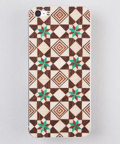 Taracea wood skins for iPhone5 - SABIKA FOREST