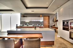 Top 5 Kitchen & Living Design Trends for 2014 > Caesarstone Küchen Design, Design Trends, Kitchen Living, Kitchen Decor, Kitchen Ideas, Latest Kitchen Trends, Latest Trends, Kitchen Benches, Neue Trends