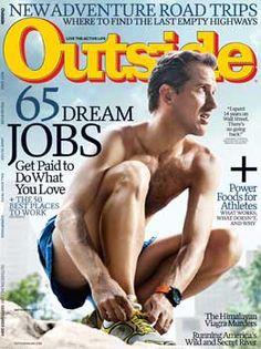 Outside Magazine: 65 Dream Jobs & New Adventure Road Trips