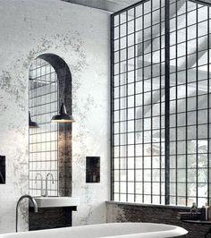industrial, bricks, concrete, cast iron