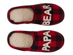 0a0ba648732 Dearfoams Papa Bear Scuff Slipper Men s Shoes