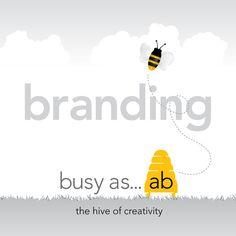 examples of brand work from the hive of creativity - busy as ab