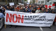 Muslims are being verbally and/or physically assaulted by Francophones in Quebec. (DB) | The proposed charter of Quebec values is blamed for a number of recent incidents involving anti-Muslim sentiments.
