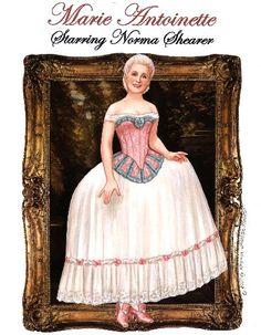 NORMA SHEARER as Marie Antoinette, 1938 <><> by Brenda Sneathen Mattox 1 of 10