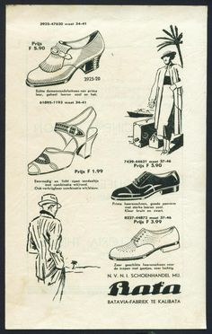 Bata Indonesia Advertising, date unknown #batashoes #120years