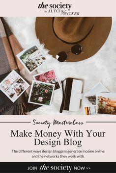 make money blogging, interior design blog, interior design affiliate income, interior design business