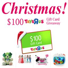 $100 Toys R Us Gift Cards Are Up For Grabs! - Hey folks! Christmas is just around the corner. Ions Media Sweepstakes is giving away $100 Toys R Us gift cards just in time for Christmas. Click here, take a short survey and be entered to get the $100 Toys R Us gift card. Don't you wanna see your children's smile? Take action now!